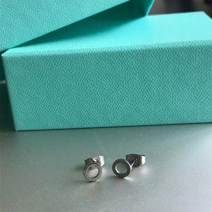 ✨Stainless Steel Open Circle Stud Earrings